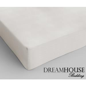 Dreamhouse Bedding Katoen Hoeslaken Cream