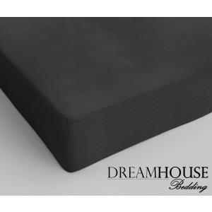 Dreamhouse Bedding Katoen Hoeslaken Anthracite
