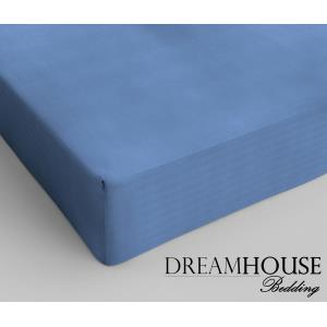 Dreamhouse Bedding Katoen Hoeslaken Blue
