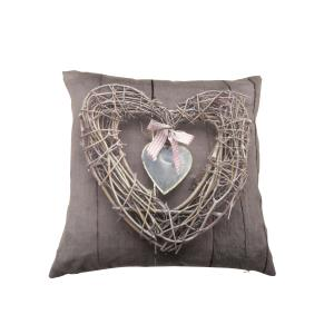 Hearts Hanger Taupe