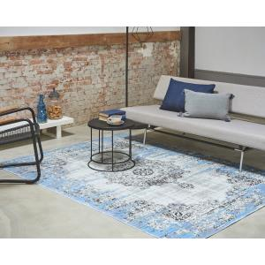 Vloerkleed Bohemian Grey/Blue
