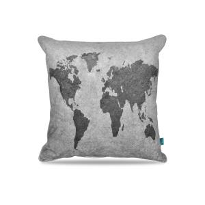 Worldmap Grey