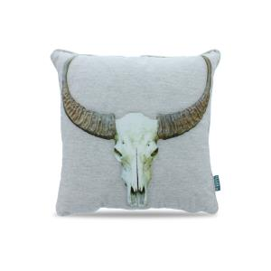 Bull Skull Light Grey