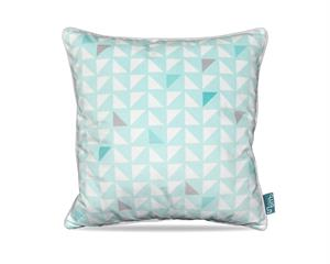 Pastel Triangle Waterfall Turquoise