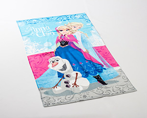 Frozen Anna and Elsa Blue
